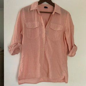 Patagonia Lightweight A/C Button Down Shirt Small